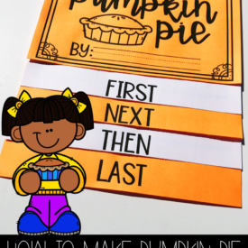 How to Make Pumpkin Pie {Free Flip Book}