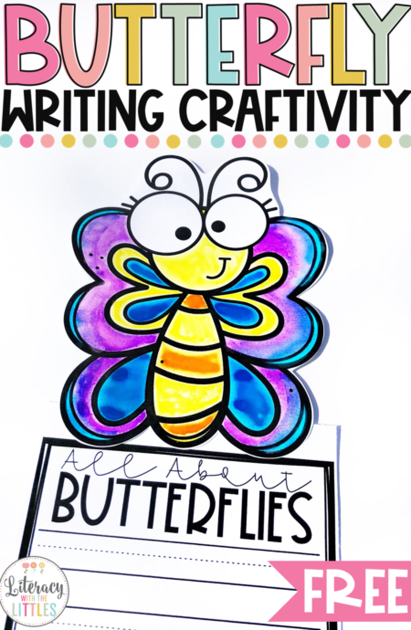 Butterfly Writing Craftivity