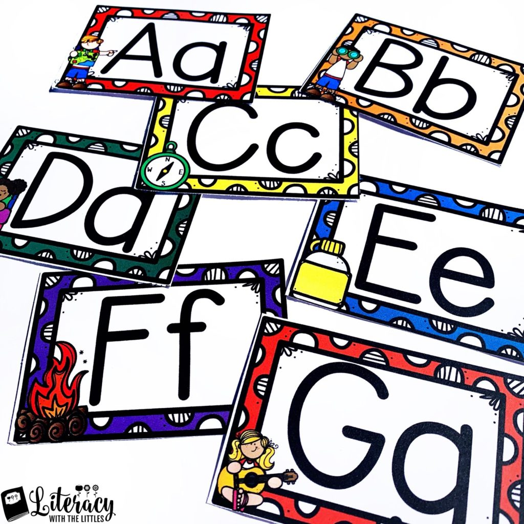 photograph about Poster Board Letters Printable named No cost Tenting Alphabet Posters