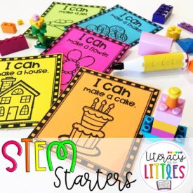 STEM Starters {For STEM activity bins or tubs}