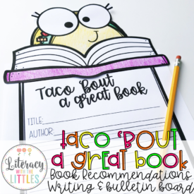 Taco Bout a Great Book Book Recommendation and Bulletin Board