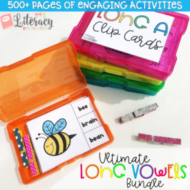 Ultimate Long Vowels Bundle {Engaging, hands-on phonics activities}