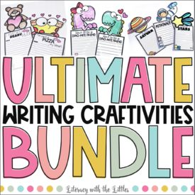 Ultimate Writing Craftivities Cover